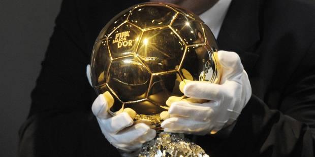 Ballon d'Or: trois et non cinq finalistes - La DH