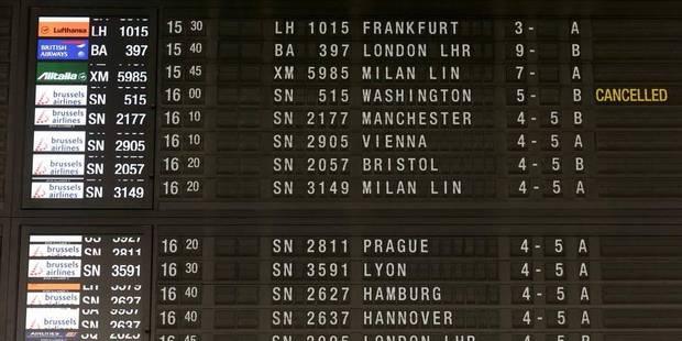 Les vols de Brussels Airlines opérés comme prévu - La DH