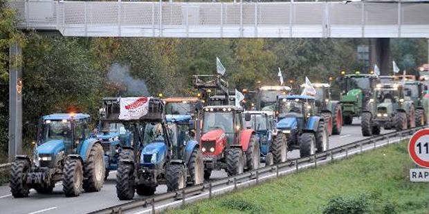 Paris: la manifestation des agriculteurs tourne au drame - La DH
