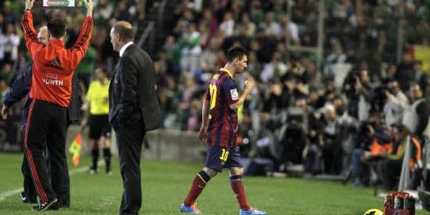 Messi et le Barça, ce serait fini en juin - La DH