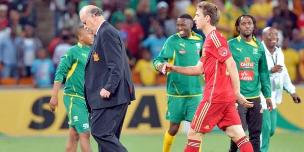 Le match Afrique du Sud - Espagne est bien comptabilisé par la FIFA - La DH