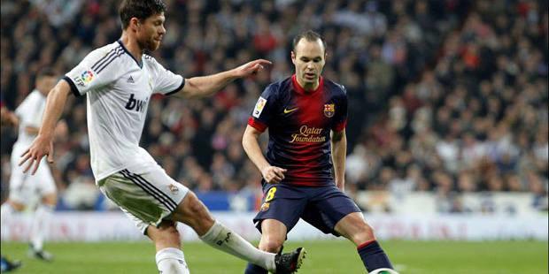 Liga: Iniesta prolonge, Xabi Alonso souffre