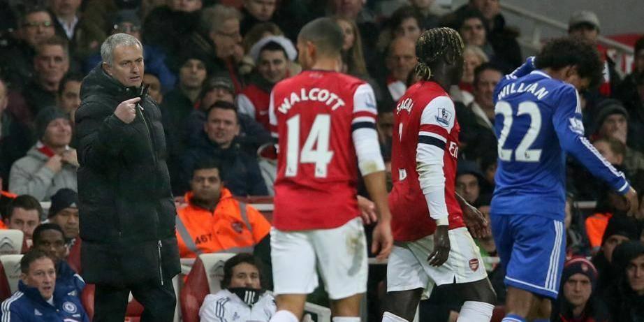"Mourinho: ""Arsenal? Ils aiment pleurnicher"""