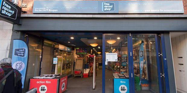 Le mobilier des magasins Free Record Shop vendu aux enchères - La DH
