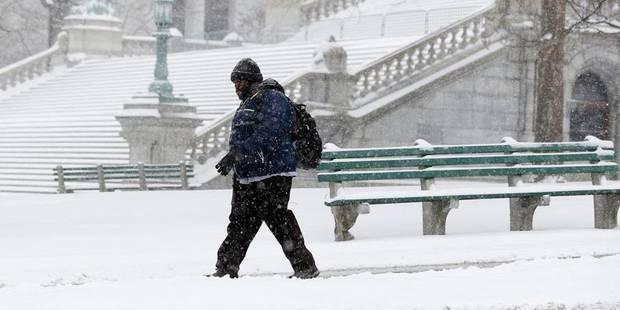 Tempête de neige dans le nord-est des États-Unis, -12 attendus à New York - La DH