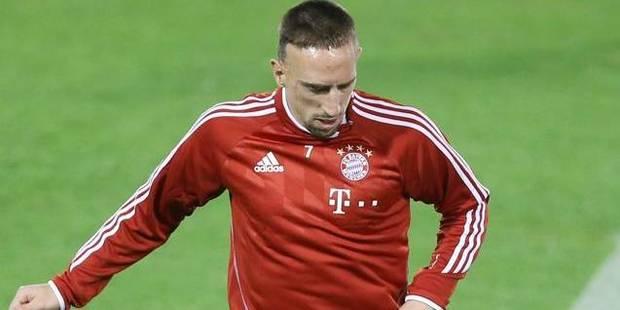 Rib�ry, de loin le meilleur selon les joueurs de Bundesliga