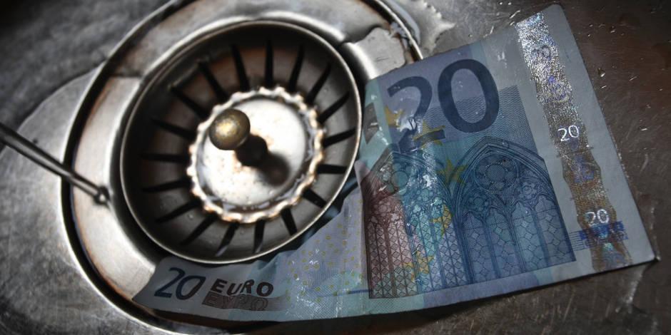 Wallonie: le prix de l'eau va à vau-l'eau