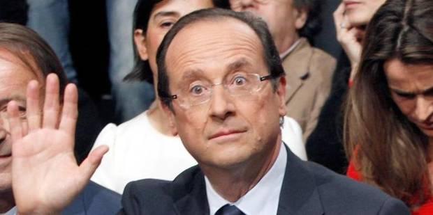 Hollande a rendu visite � Val�rie Trierweiler