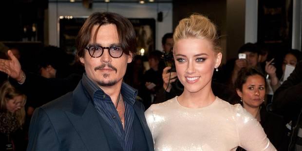 """Johnny Depp se fiance à l'actrice de """"Zombieland"""" Amber Heard - La DH"""