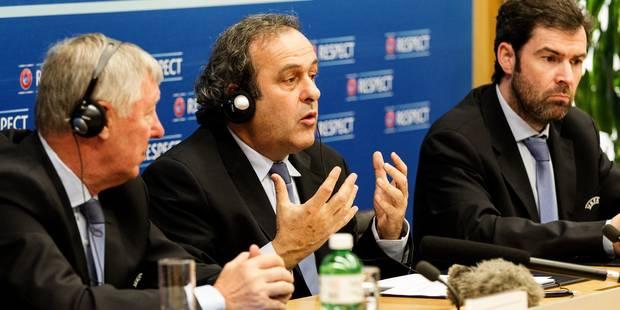 Pr�sidence FIFA: Platini fera part de son choix apr�s le Mondial