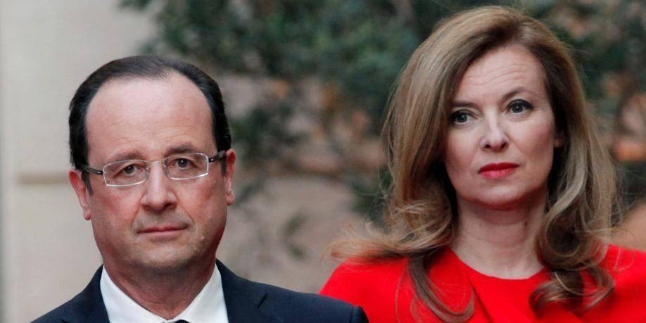 François Hollande en a fini avec Valérie... qui fait ses adieux!