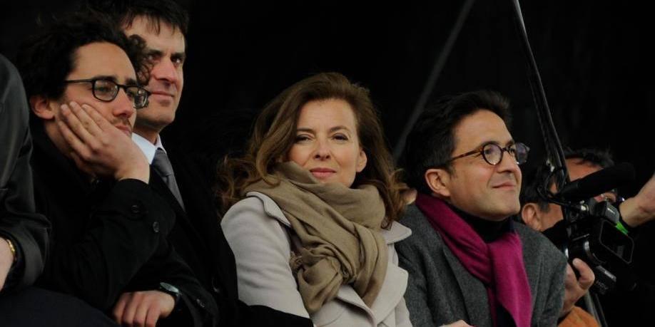 Valerie Trierweiler At Francois Hollande's Vincennes Campaign Meeting - Paris