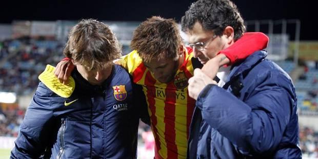 La blessure de Neymar évolue bien - La DH