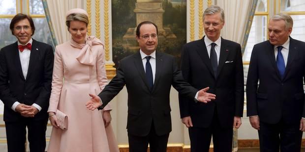 Le roi Philippe et la reine Mathilde à Paris - La DH
