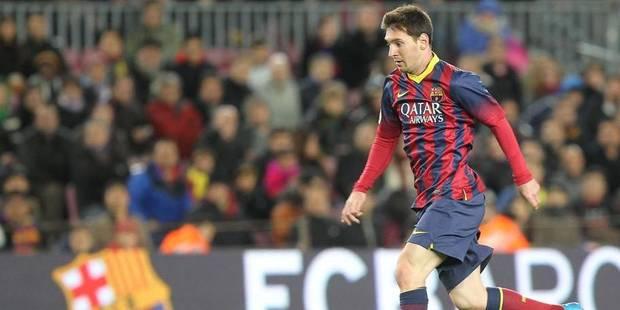 Liga: Messi émerge du déluge, le Barça surnage - La DH