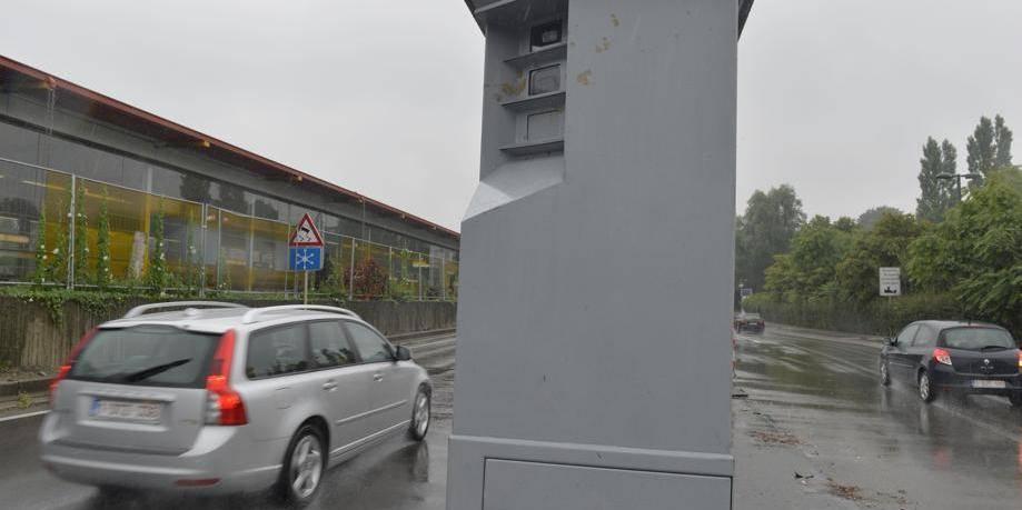 carte radars mobiles belgique