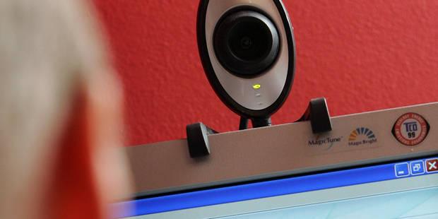 Un an avec sursis pour exhibition par webcam devant une fille de 11 ans - La DH