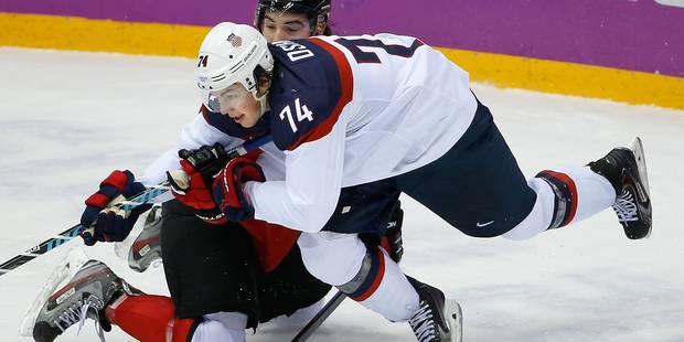 Le Canada élimine les hockeyeurs américains - La DH