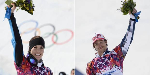 Slalom parall�le: l'or pour Vic Wild et Julia Dujmovits