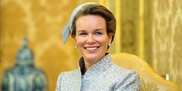 La touche glamour de la reine Mathilde - La DH