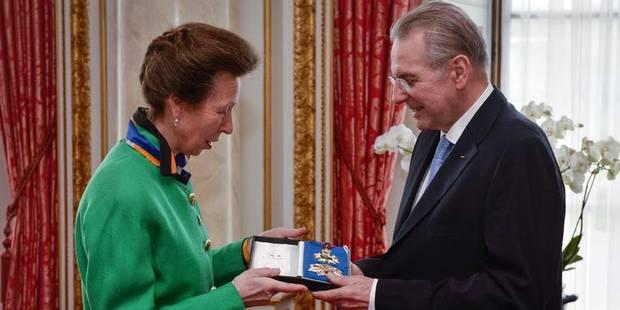 Jacques Rogge mis à l'honneur par la couronne britannique - La DH