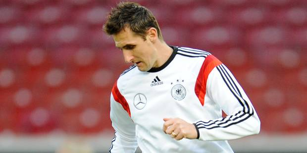 Klose devrait quitter la Mannschaft après la Coupe du monde - La DH
