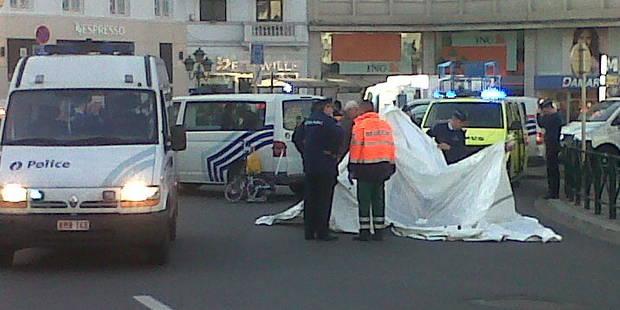 Un piéton décède en traversant place Louise