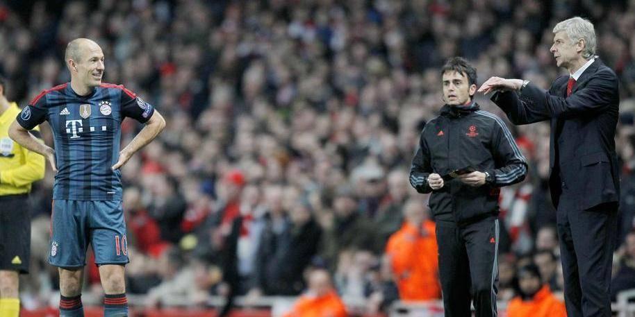 Clash entre Robben et Wenger