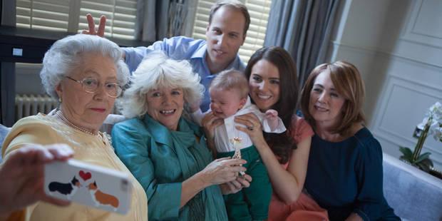 Le selfie totalement ?crazy? de Kate et la famille royale - La DH
