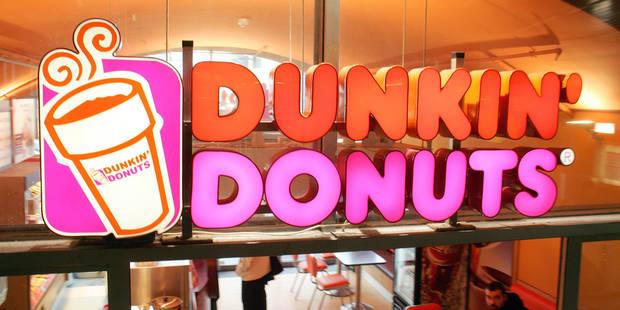 La chaîne Dunkin'Donuts va débarquer en Belgique