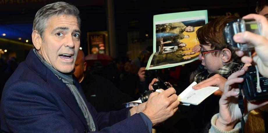 George Clooney s'est fiancé