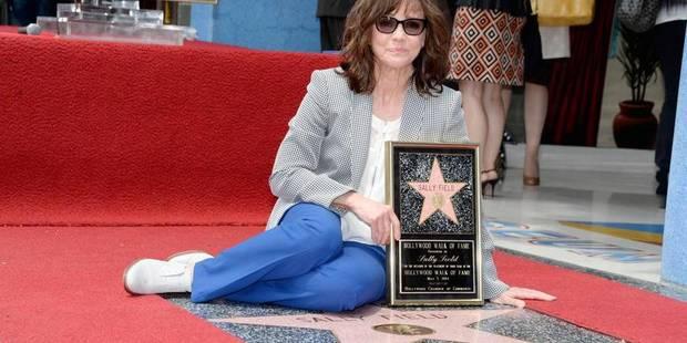 L'actrice Sally Field reçoit son étoile sur Hollywood Boulevard - La DH