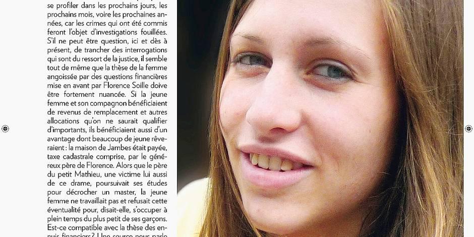 Drame de Jambes: Florence S. s'exprimera-t-elle sur sa vie personnelle? - La DH