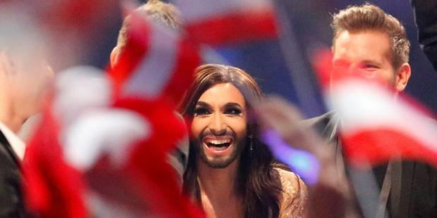 Eurovision: le travesti barbu autrichien remporte le concours - La DH