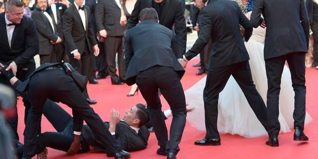 À Cannes, un journaliste se glisse sous la jupe d'une actrice - La DH