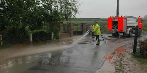 Orages: des routes et caves inondées dans la région de Charleroi - La DH