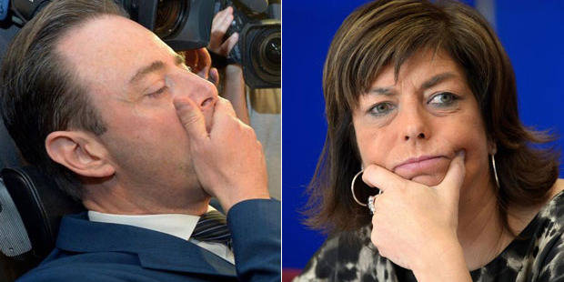 Sondage: Milquet chute à Bruxelles, De Wever en Flandre - La DH