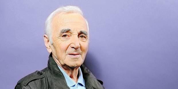 """Aznavour: """"J'arrêterai à 100 ans"""" - La DH"""