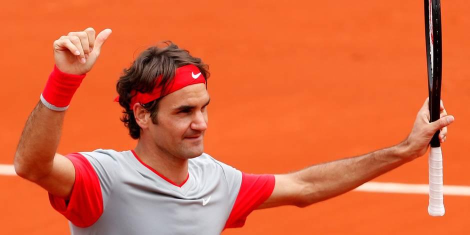 Roland-Garros: tout roule pour Roger Federer et Serena Williams