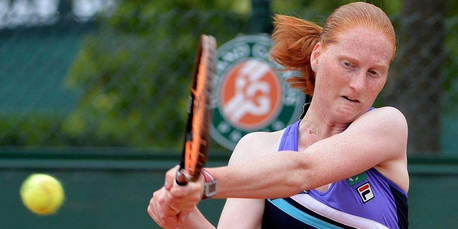 Roland-Garros: Van Uytvanck battue en deux sets