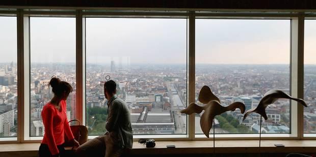 La plus haute tour r�sidentielle de Belgique est pr�te !