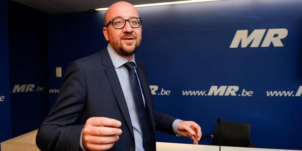 """Charles Michel: """"C'est une gifle pour l'électeur"""" - La DH"""