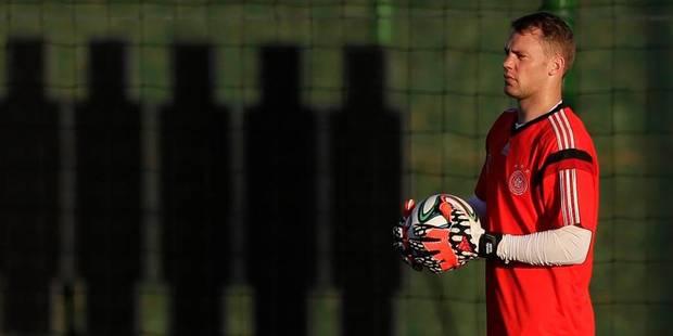 Allemagne: Neuer reprend un entra�nement normal