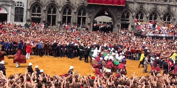 Ducasse de Mons: Saint-Georges 1, Dragon 0 - La DH