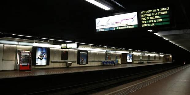 Un incendie perturbe le métro bruxellois - La DH