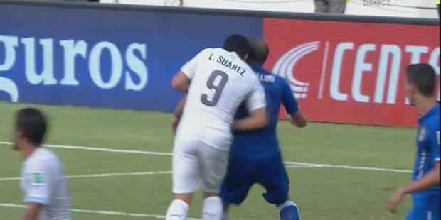 La FIFA attend le rapport de l'arbitre après la morsure de Suarez - La DH