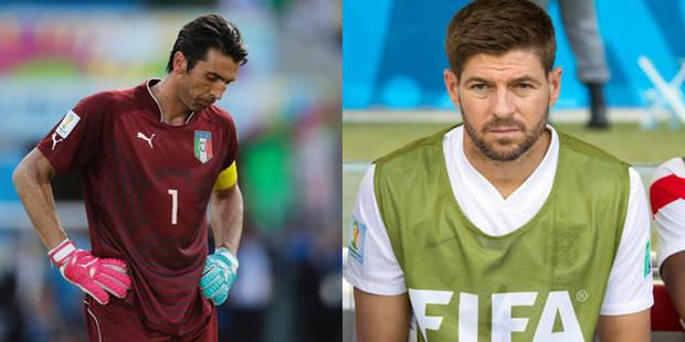 Gianluigi Buffon et Steven Gerrard s'en prennent aux jeunes - La DH