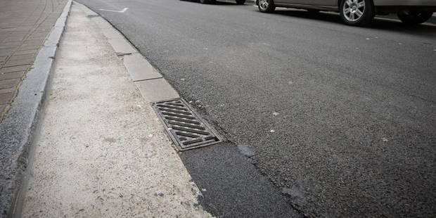Liège : un piéton frappé d'un coup de crosse - La DH