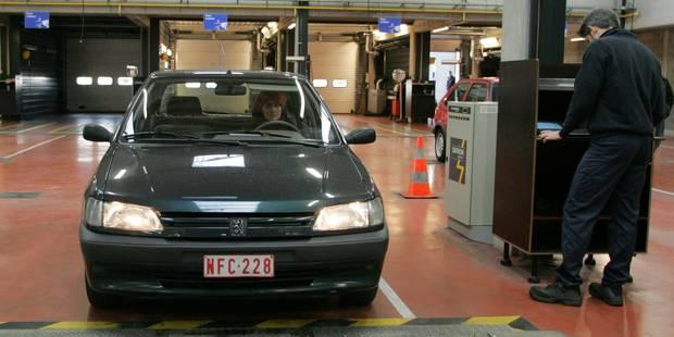 Nombre record de Belges en retard au contrôle technique - La DH