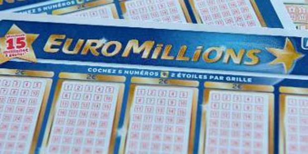 Euromillions: un Belge remporte 67,9 millions ! - La DH